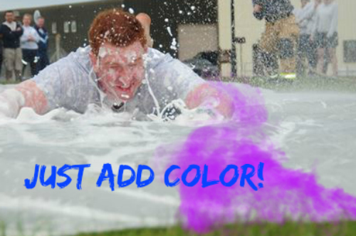 color war slip and slide