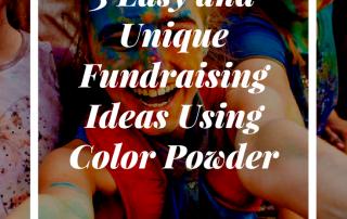 3 fundraising ideas