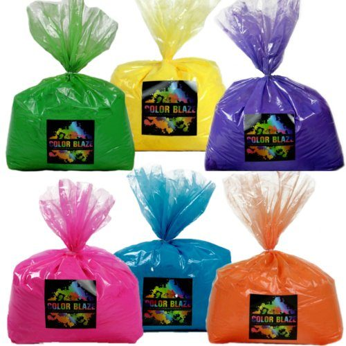 Color Powder Six Pack - Six 5lb bags of your choice