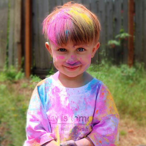Pink Color Powder