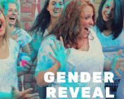 Women celebrate a Gender Reveal Party