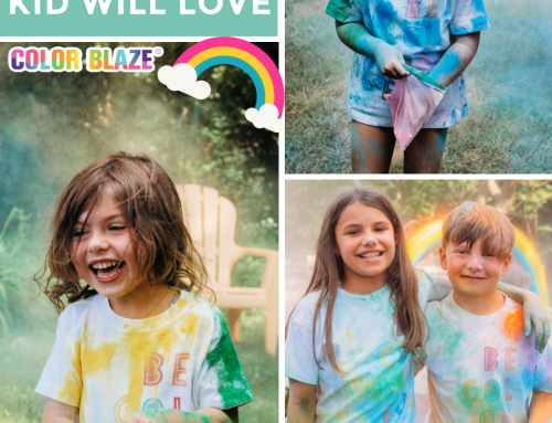 Plan the Ultimate Backyard Birthday Party with Color Powder