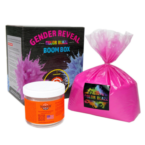 Gender Reveal Pink Boom Box With Tannerite