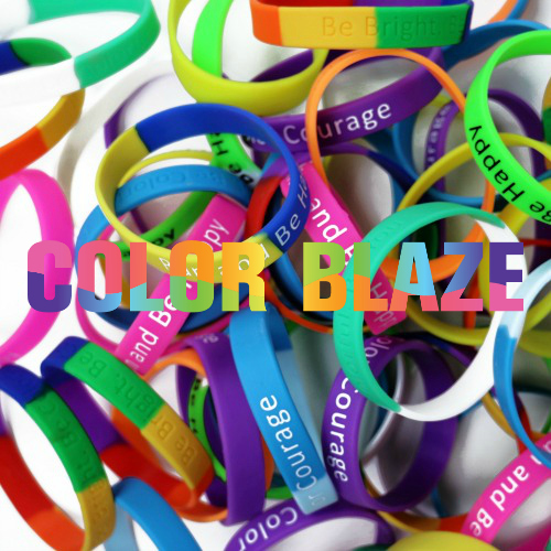 Color Blaze Inspirational Bracelets