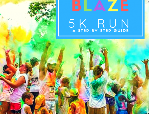 How to Host a Color Blaze 5k Run