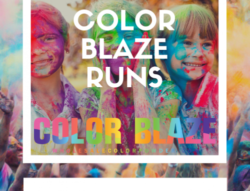 How To Organize a Fun Run – Color Powder Runs