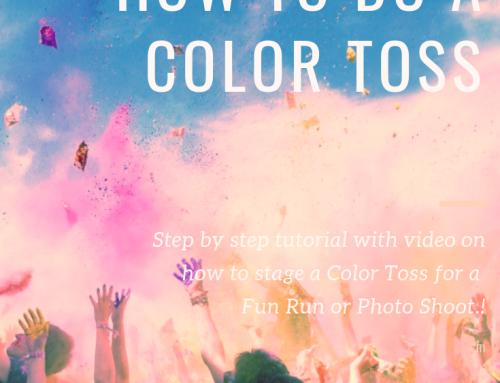 Color Race Tutorial – How To Do A Color Powder Toss