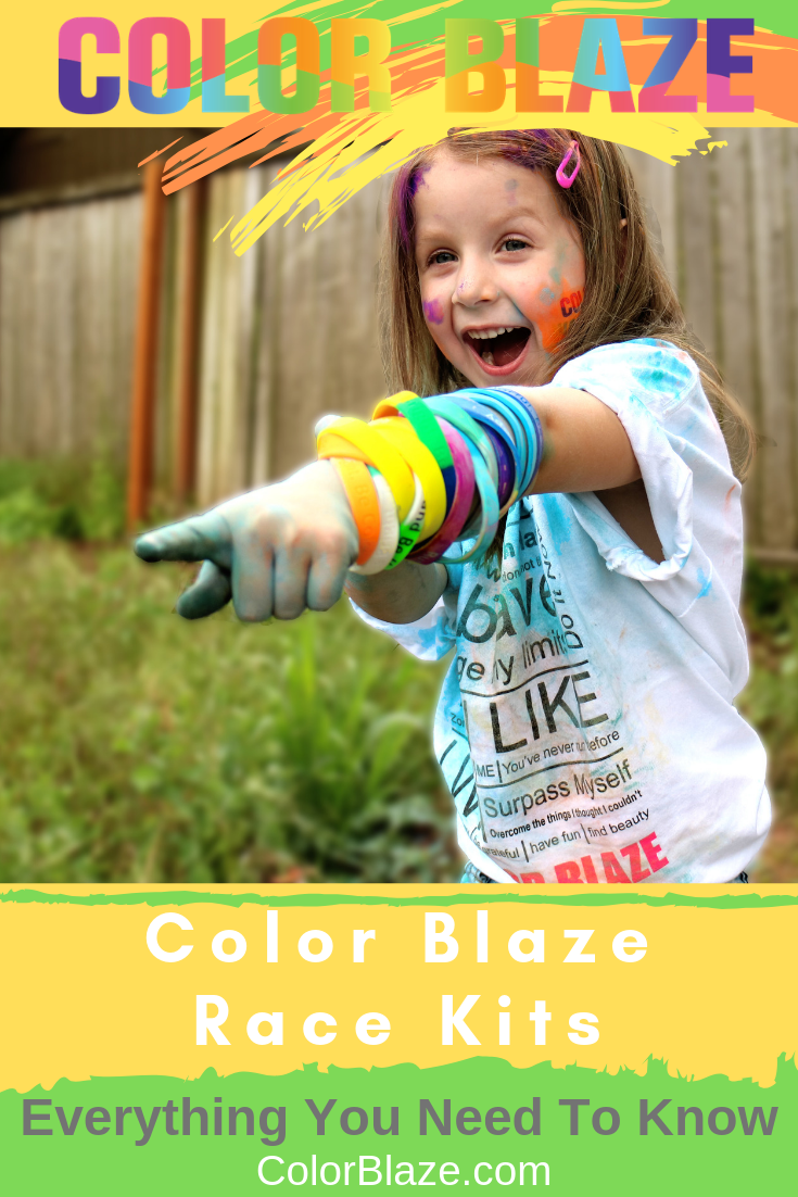 Color Blaze Race Kits