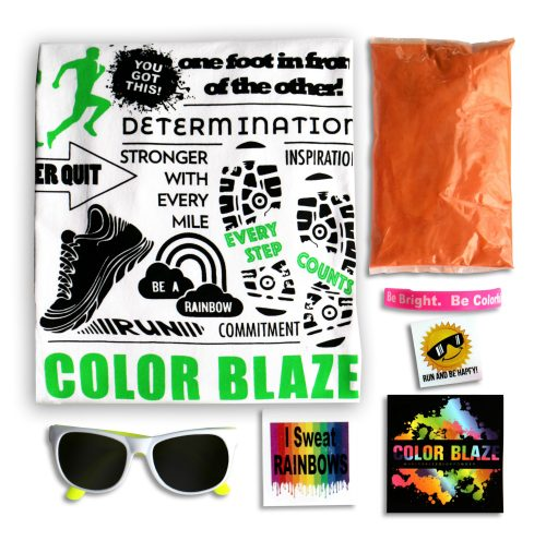 Color Blaze Race Kit With Tshirt 2018