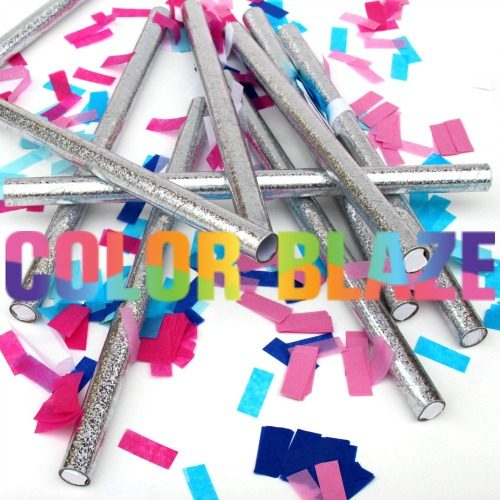 Gender Reveal Confetti Sticks