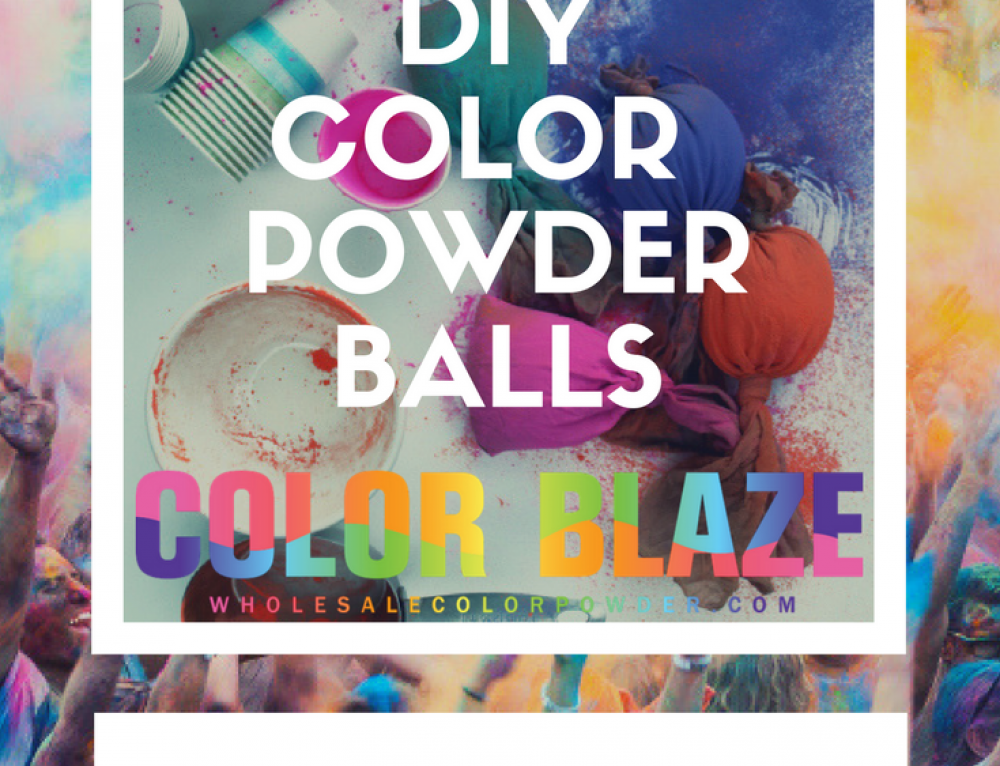 How To Make Color Powder Balls For Color Fights