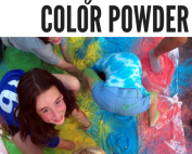 Fun and games with color powders