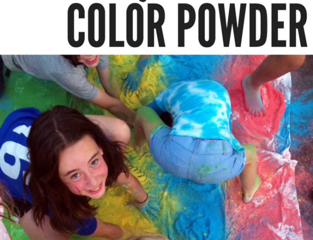 How To Create Colorful Outdoor Fun With Color Powder!