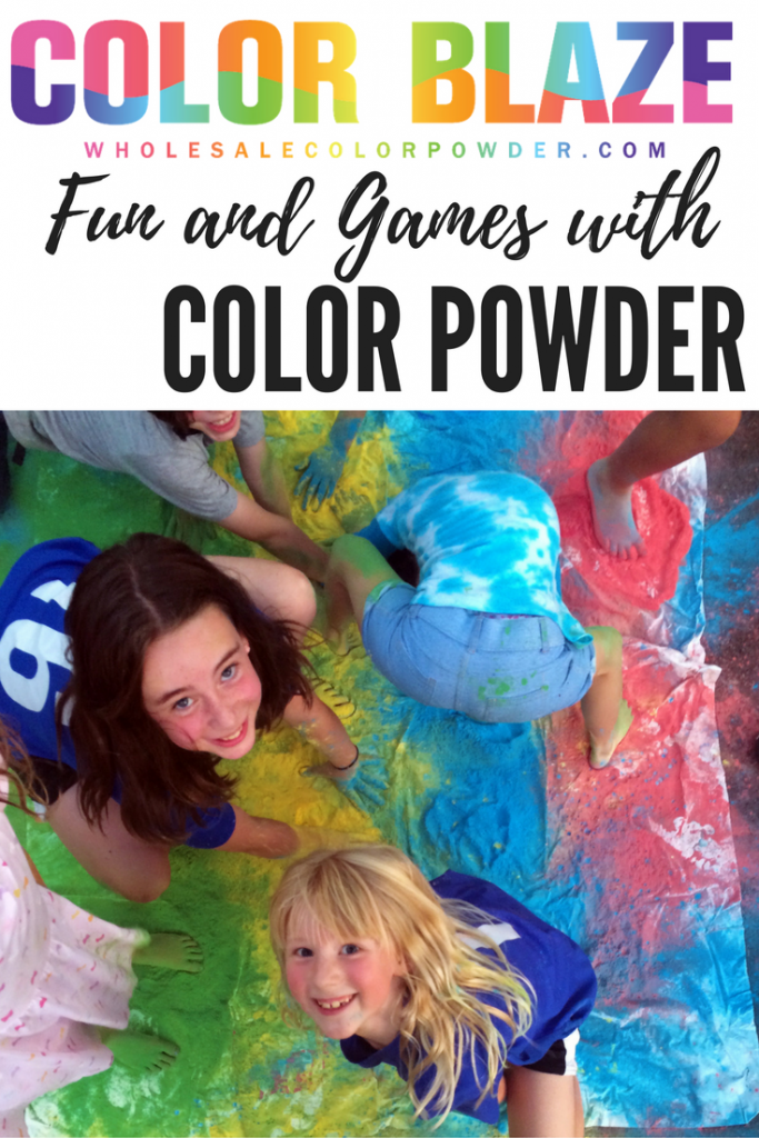 color powder party ideas image