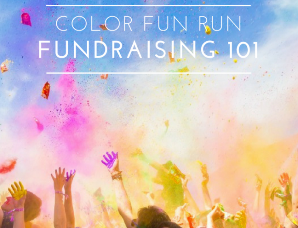 How to Raise Funds with Color Fun Runs