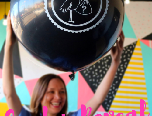 Gender Reveal With Confetti Balloon