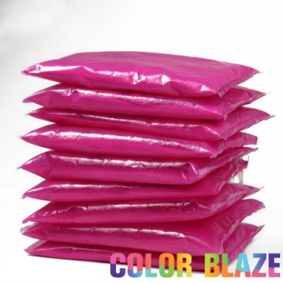 10 pink color powder packets - Color Packets