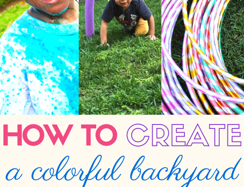 How To Create a Colorful Backyard Obstacle Course