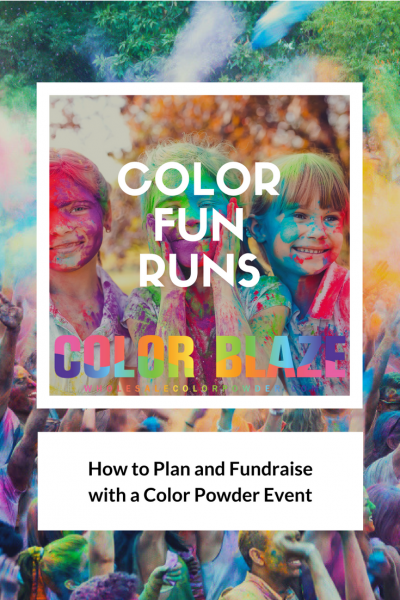 instructions for how to organize a fun run