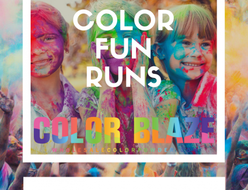 Color Fun Runs | How To Organize a Fun Run