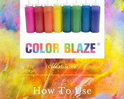 Color Blaze Squeeze Bottles