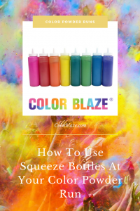 Color Blaze Squeeze Bottles