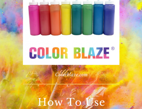 How To Use Squeeze Bottles At Your Color Powder Run