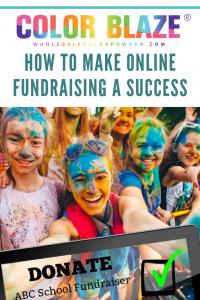 Blaze Raise Online Fundraising