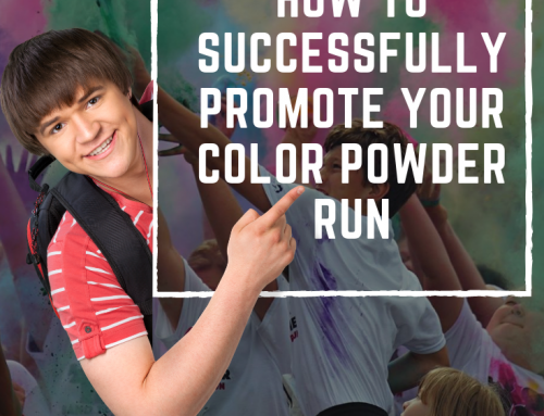 Successfully Promote Your School Fundraiser Color Powder Run