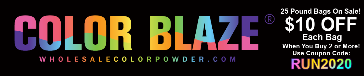 Color Blaze Wholesale Color Powder Logo