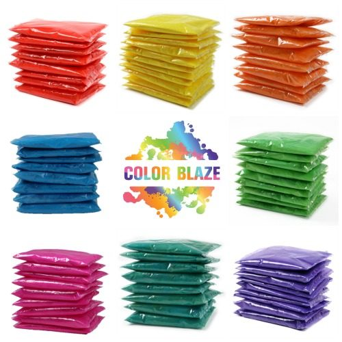 color powder packets - Color Packets