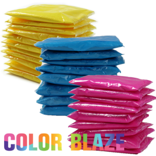 Color Powder Packets