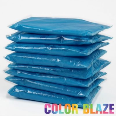 10 Blue Color Powder Packets