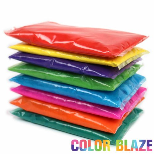 Sample Color powder packets