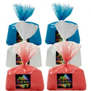 Patriotic 6 Pak-30 lbs of color/Six 5lb bags-Free Shipping