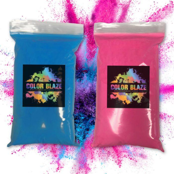 Pink Blue- 1 pound