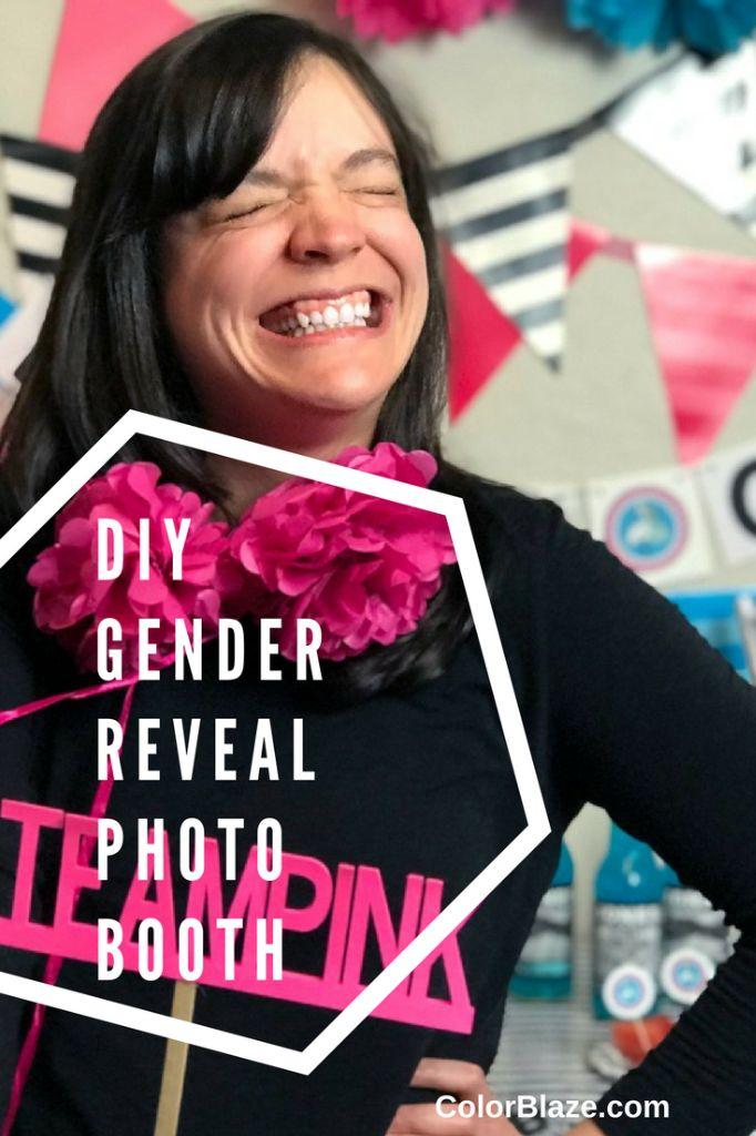 Gender Reveal Party Color Powder Color Blaze