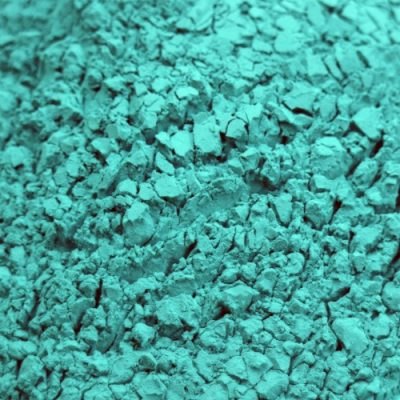 Color Blaze Teal Color Powder Sample