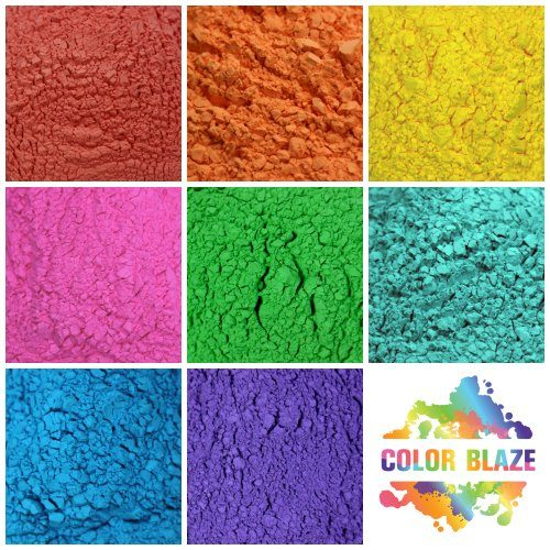 Color Blaze Color Powder Options