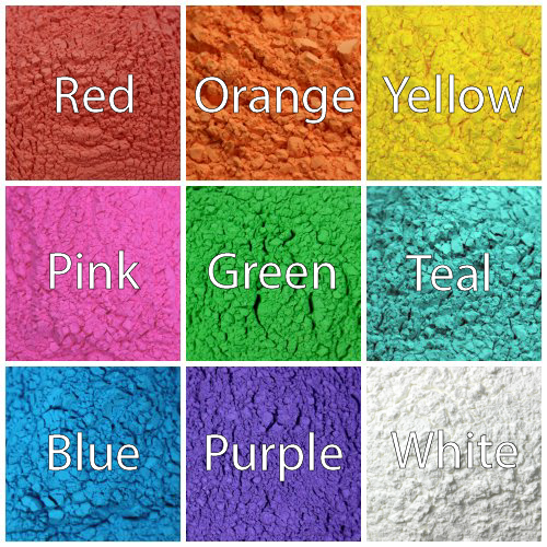 color Blaze Color Powder Samples