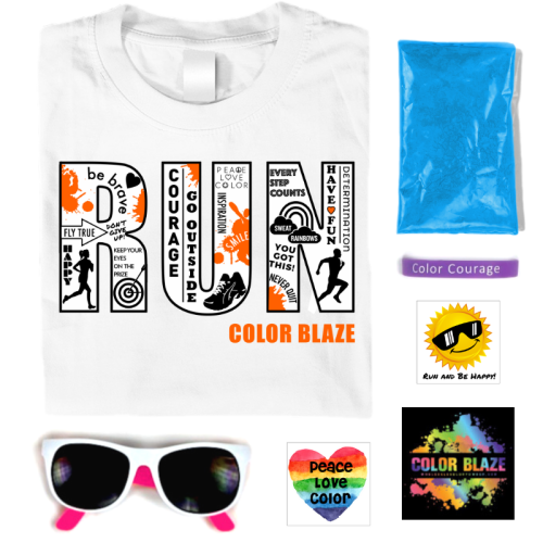 Color Fun Run Race Kit