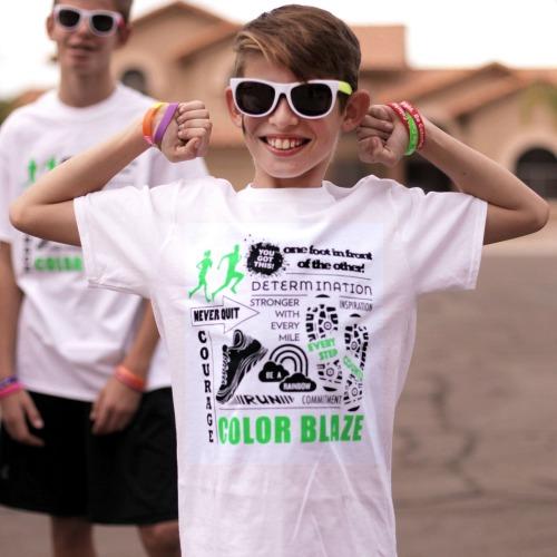 Color Fun Run Race Day Tee