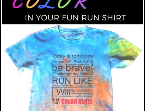 Save The Color In Your Color Fun Run Race T-Shirt