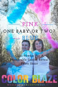 Picture of Husband & Wife Gender Reveal Photo Shoot