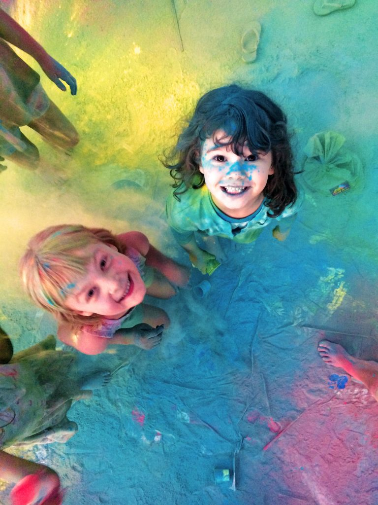 Kids + color = lots of fun!