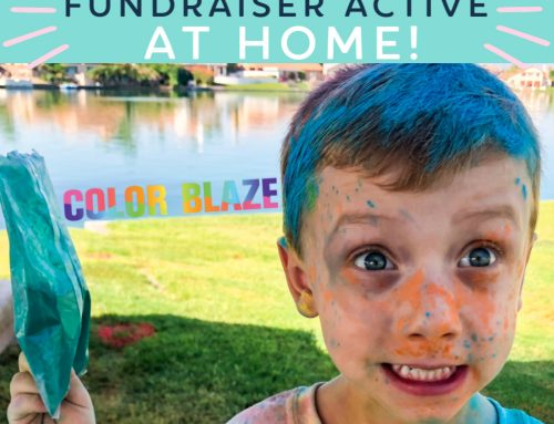Virtual Color Blaze Run! Keep Your Fundraiser Active At Home!