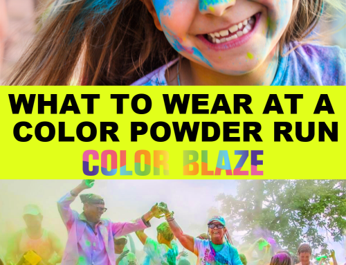 What to Wear at a Color Powder Run