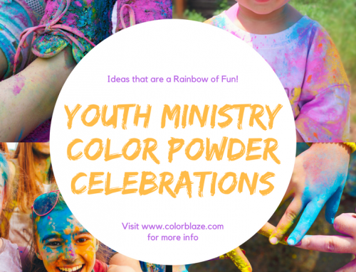 Youth Group Games With Color Powder