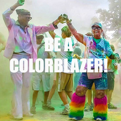 Be a color blazer!