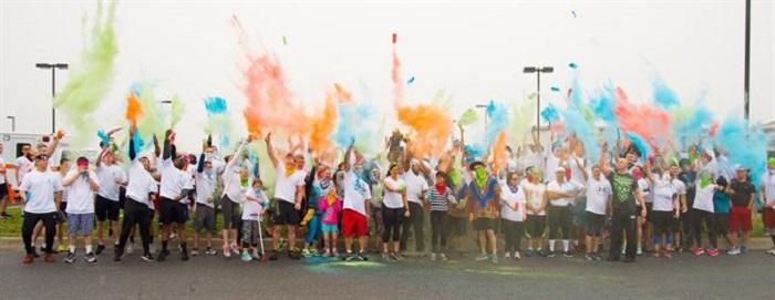 color fun run fundraiser